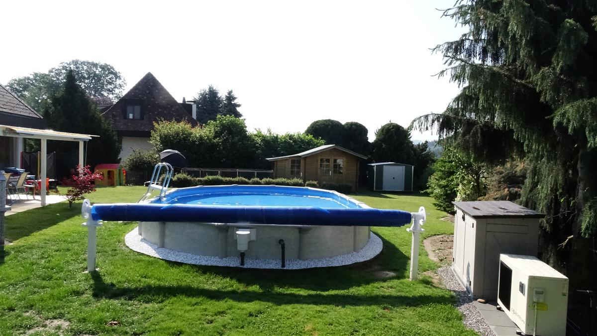 Solarfolien aufroller solarfolie aufrollvorrichtung for Pool rundbecken