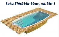 BOCA 670x330x150cm