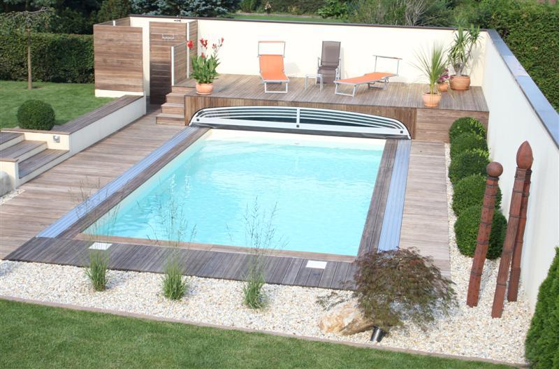 schwimmbecken berdachung superflat. Black Bedroom Furniture Sets. Home Design Ideas