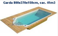 GARDA 800x370x150cm