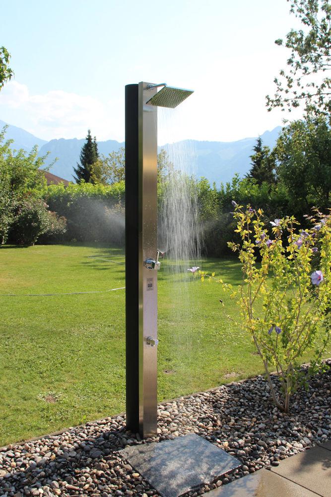 Solardusche Garten