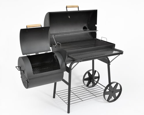 bbq xxl grillwagen smoker lok profi qualit t 90kg ebay. Black Bedroom Furniture Sets. Home Design Ideas