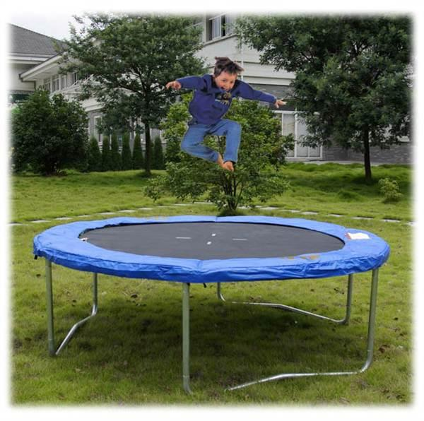 Trampolin 244cm 250cm gartentrampolin 244cm 250cm for Pool aufstellbar