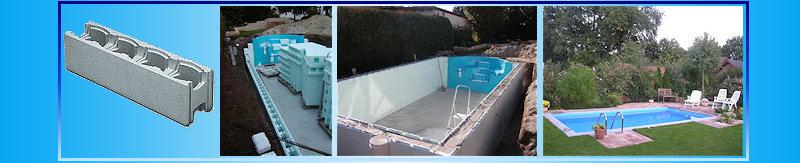 ihr schwimmbad aus styropor bausteinen komfort ebay. Black Bedroom Furniture Sets. Home Design Ideas