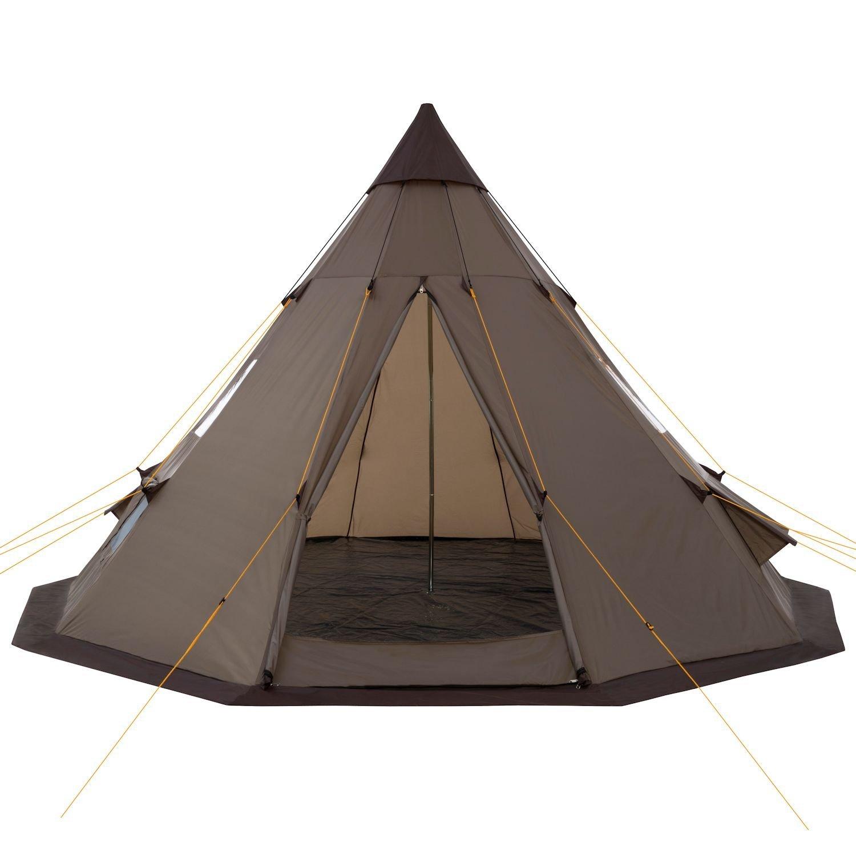 campfeuer 4 pers tipi teepee zelt indianerzelt rundzelt. Black Bedroom Furniture Sets. Home Design Ideas