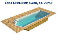 TOBA 600x300x145cm